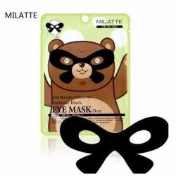 MILATTE Eye Маска от морщин вокруг глаз MILATTE FASHIONY BLACK EYE MASK-BEAR 10гр MILATTE