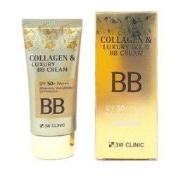 "3W CLINIC Крем BB с КОЛЛАГЕН/ЗОЛОТО ""Collagen&Luxury Gold"" 3W CLINIC"