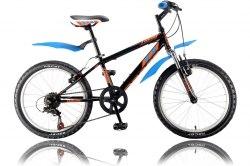 Велосипед Racer Turbo 20 2.0 (черный/синий)