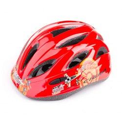 Шлем велосипедный детский Cigna WT-021 (чёрный/красный)