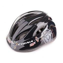Шлем велосипедный детский Cigna WT-021 (чёрный)