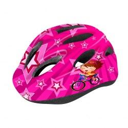 Шлем велосипедный детский Cigna WT-021(чёрный/красный велосипед)
