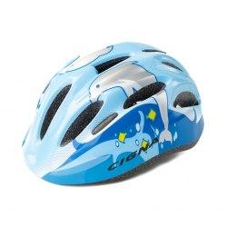 Шлем велосипедный детский Cigna WT-024 (чёрный/голубой)
