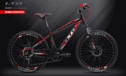 Велосипед LTD Bandit 24 Disc Black-Red (2019)