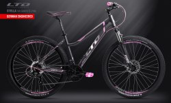 Велосипед LTD Stella 740 Graphite-Pink (2019)