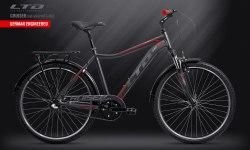Велосипед LTD Cruiser 640 Graphite-Red (2019)
