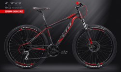 "Велосипед LTD Rocco 760 Black-Red 27.5"" (2019)"