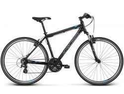 Велосипед Kross Evado 2.0 (черный/синий, 2019)