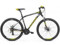 Велосипед Kross Hexagon 3.0 27.5 2019 (черный/желтый)