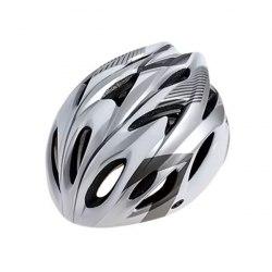 Шлем велосипедный взрослый Cigna WT-012 (чёрный/серый/белый)
