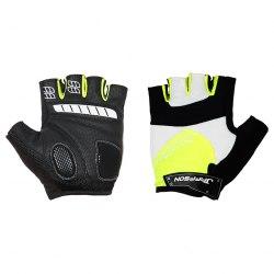 Перчатки JAFFSON SCG 46-0123 (чёрный/белый/зелёный)