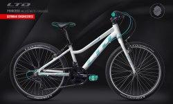 Велосипед LTD Princess 440 Lite White-Turquoise