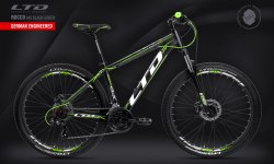 Велосипед LTD Rocco 940 Black-Green