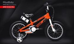 """Велосипед RoyalBaby Space No.1 Al 16"""" Orange (2020)"""