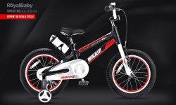 "Велосипед RoyalBaby Space No.1 Al 18"" Black (2020)"