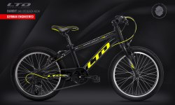 Велосипед LTD Bandit 240 Lite Black-Neon