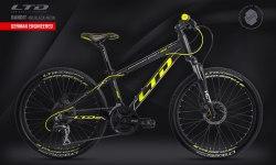 Велосипед LTD Bandit 460 Black-Neon