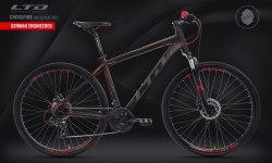 Велосипед LTD Crossfire 840 Black-Red (2020)