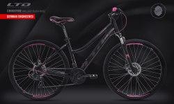 Велосипед LTD Crossfire 840 Lady Black-Rose (2020)