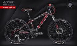 Велосипед LTD Bandit 460 Black-Red (2021)