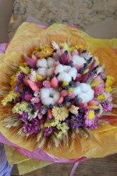 Букет-макси летний из сухоцветов