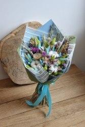 Букет-макси Blue из сухоцветов