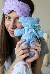 Саше Мишаня с лавандой (расцветка на выбор, ткань хлопок)