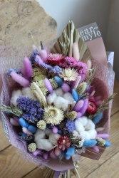 "Букет-макси ""Purple"" из сухоцветов"