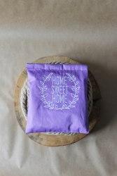 """Саше-думочка тканевое с вышивкой """"Home sweet home"""""""