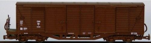 Австрийский узкоколейный 4-осный крытый вагон (без будки) ÖBB ROCO 34522.2