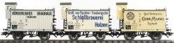 Cет баварских вагонов для перевозки пива K.Bay.Sts.B. Märklin 45252