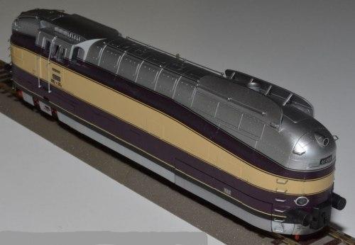 Набор немецкого скоростного пассажирского поезда BR 61 002 DRG Rivarossi 2306