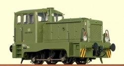 Немецкий маневровый локомотив Бундесвера V22 DB Brawa 42603
