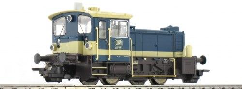 Немецкий маневровый дизель-локомотив Köf III Baureihe 335 DB TRIX 22048