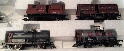 Прусский товарный поезд K.P.E.V. с паровозом G 8.2 (BR56) Fleischmann 4884