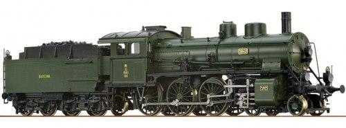 Баварский пассажирский паровоз P 3/5H der K.Bay.Sts.B. (BR 38.4) Brawa 40650