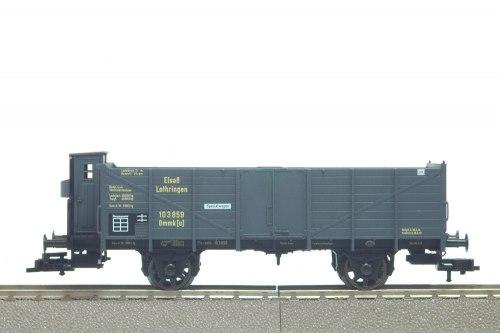 Вюртембергский полувагон с будкой K.W.St.B. Fleischmann 5886