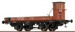 Германская вагон-платформа DRG Brawa 48006