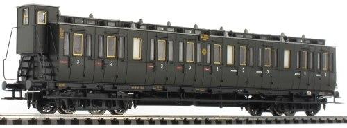 Германский пассажирский вагон 3-го класса DRG Brawa 45260