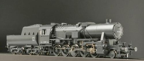 Немецкий паровоз BR 52 DRG времен второй мировой ROCO 62278