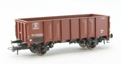 Бельгийский 2-х осный полувагон SNCB ROCO 66292