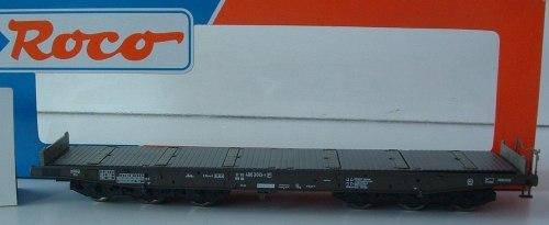 Немецкая 6-ти осная платформа Бундесвера DB ROCO 47393
