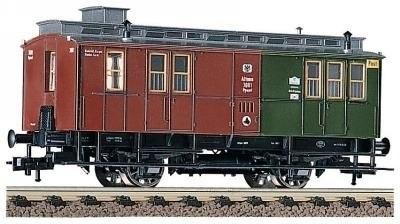 Прусский товарно-пассажирский поезд K.P.E.V. с паровозом T9.3 (BR91) Fleischmann 4895