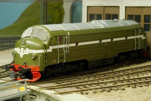 Норвежский дизель-локомотив Reihe NOHAB Di3 NSB ROCO 62950