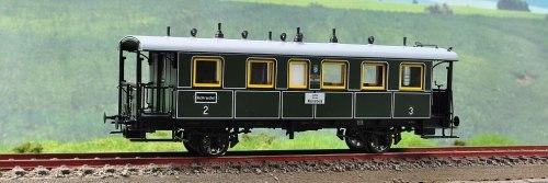 Баварский пассажирский вагон 2/3класса LokalBahn K.Bay.Sts.B. TRIX 23227