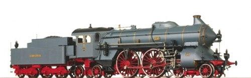 Баварский пассажирский паровоз S 2/6 der K.Bay.Sts.B. (BR 15) Brawa 0654