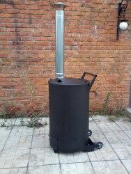 Бочка для сжигания мусора на даче