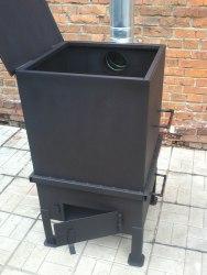 """Печь для сжигания садового мусора """"NADA"""" 325л (сталь 3 мм)"""