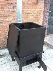Печь для сжигания садового мусора (сталь 3 мм)