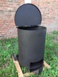 Печь для сжигания мусора СМ-200л
